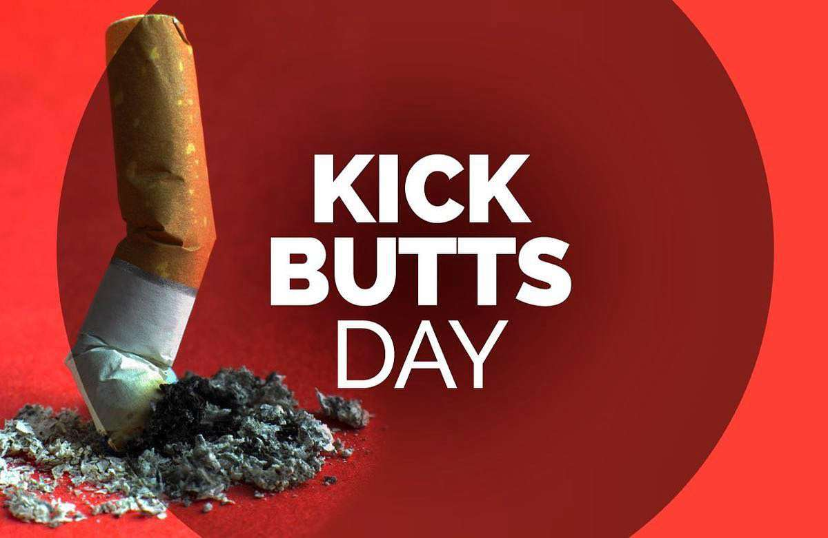 National Kick Butts Day Wishes Lovely Pics