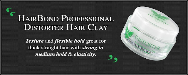 Hairbond Distorter Professional Hair Clay (100ml)