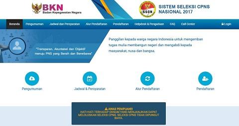 CPNS 2017, BKN: Pendaftaran hanya melalui portal https://sscn.bkn.go.id/