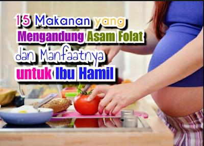 15 makanan sehat yang tinggi asam folat.