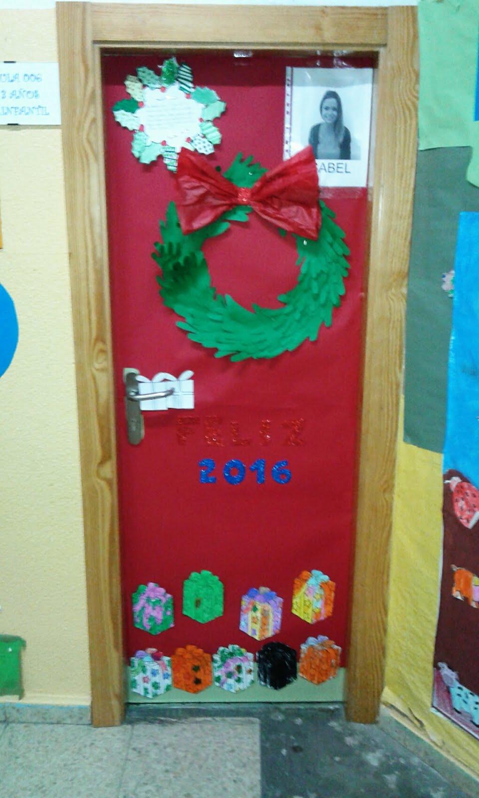 Ceip garcia morente for Puertas decoradas navidad colegio