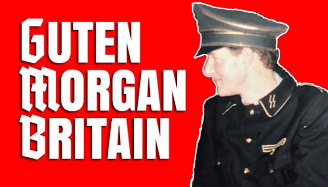 TV HOST AND #BLM FAN PIERS MORGAN'S EVIL NAZI PAST