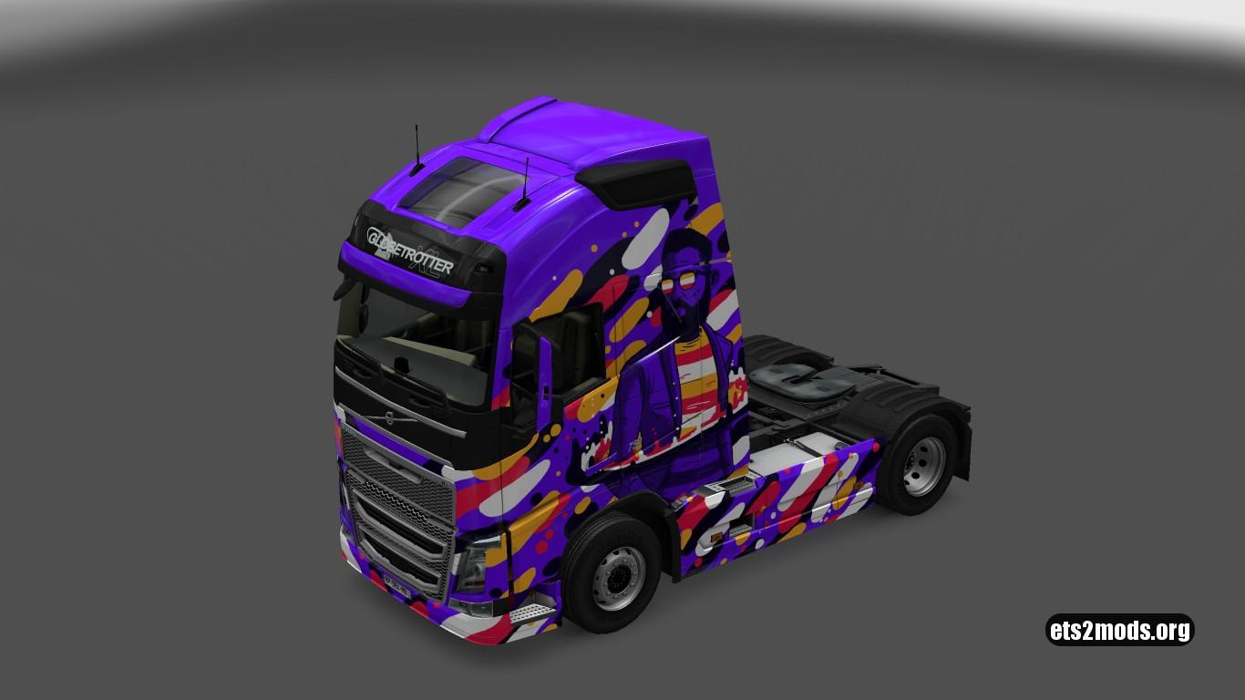 Resonance Skin for Volvo 2012