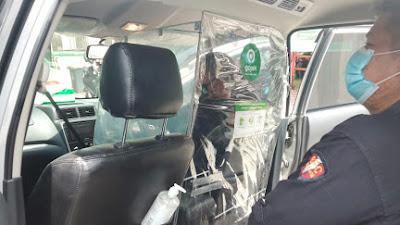 Gojek Serahkan Alat Sekat, Demi Lindungi Driver dan Konsumen dari Corona