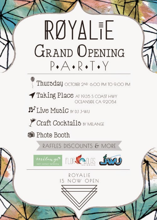 Upcoming Event: Grand Opening of ROYALIE Boutique in