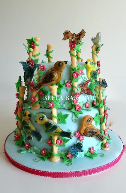 Exotic Garden Cake