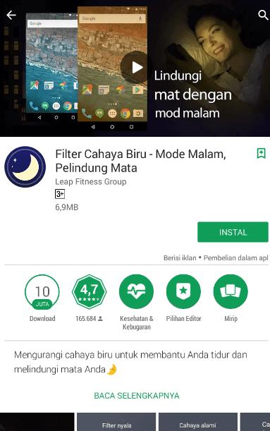 Aplikasi layar biru