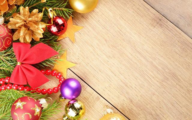 Houten kerst achtergronden