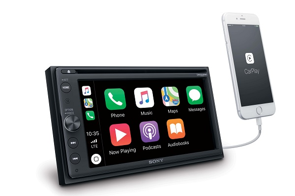 SONY announces AV Center XAV-AX210 in-car receiver with Apple CarPlay and Android Auto