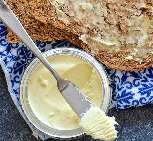 Easy Vegan Butter #homemade #veganrecipe