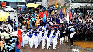 स्वाधीनता दिवस पर आन-बान-शान से फहराया गया तिरंगा
