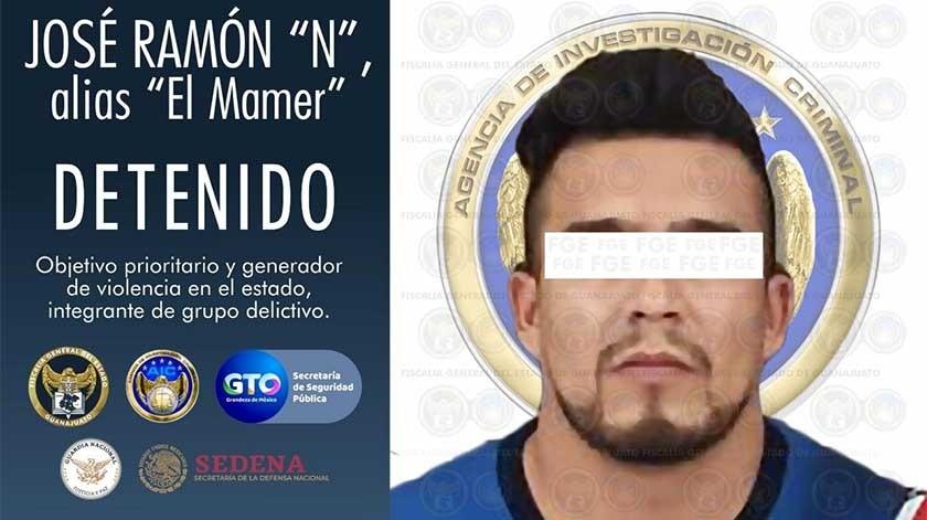 """Detienen en Morelia; Michoacán a """"El Mamer"""" Sicario de El Marro autor de masacre en Acambaro; Guanajuato"""