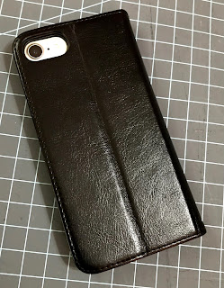 Premium PU Leather iPhone Wallet Case Back
