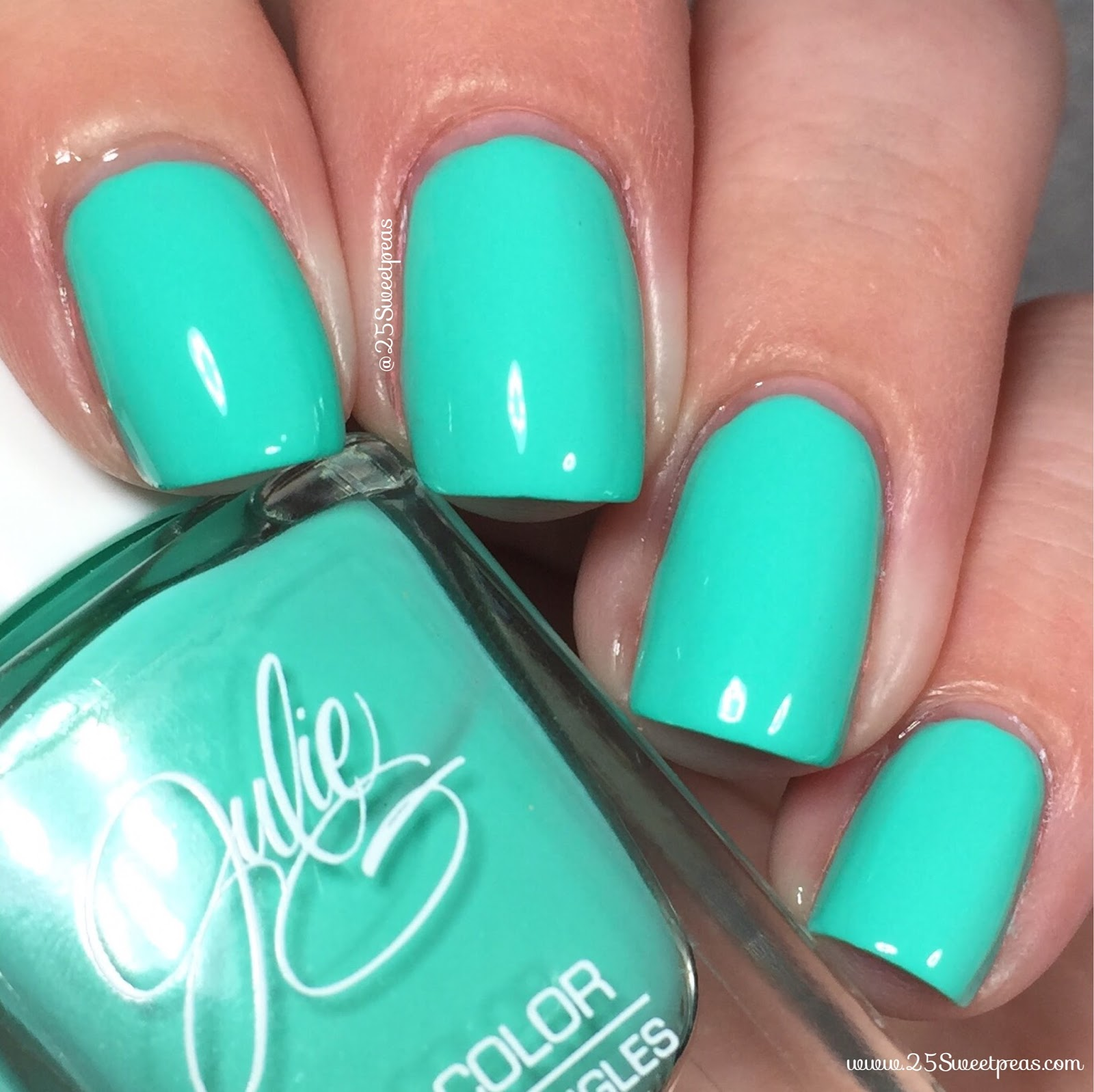 Julie G Nail Polish Tropical