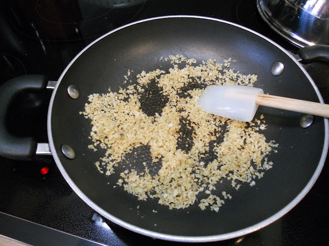 Brown the Panko Crumbs