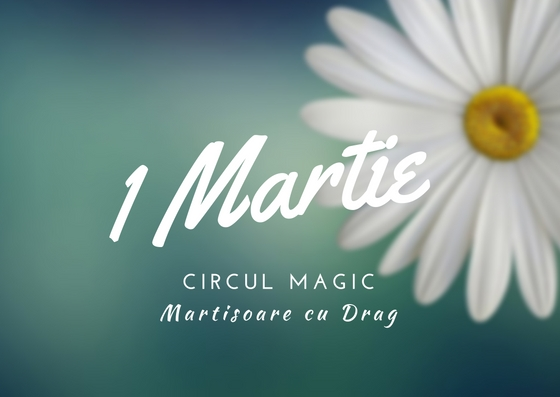 Martisoare Quilling 2017 Floare Margarete Circul Magic