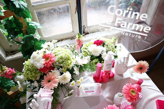 Corine De Farme Micellar Cleansing Lotion and Wipes Launch