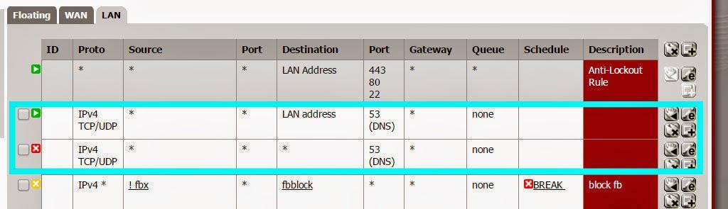 spoonfeederz blogspot com: Pfsense: anti-bypass OPEN DNS