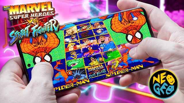Marvel Super Heroes vs Street Fighter Para Android (ROM NEOGEO)