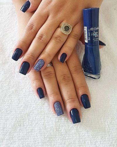 unhas decoradas azuis 4
