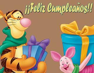 Tarjetas de Cumpleaños con Animales, parte 1