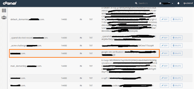 How To Connect Website To Google Search Console & Verify Domain Ownership Via DNS Record 10