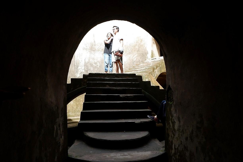 touring arounf Yogyakarta Indonesia Water Palace
