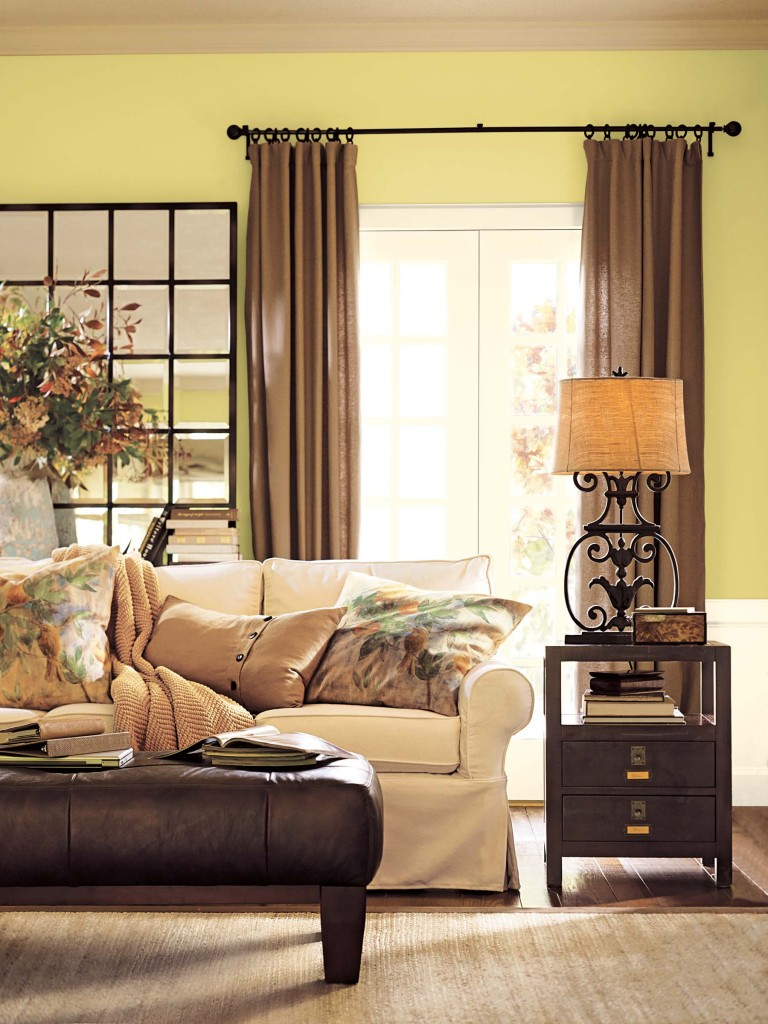 Living Room Paint Ideas Black Furniture