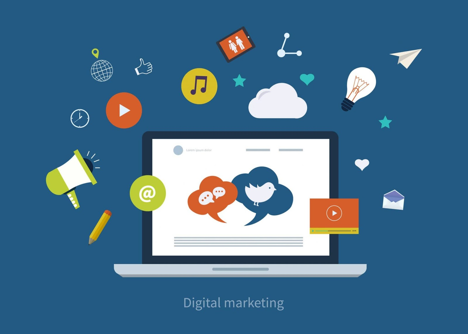 How can Amazon Web Services escalate Digital Marketing Business?
