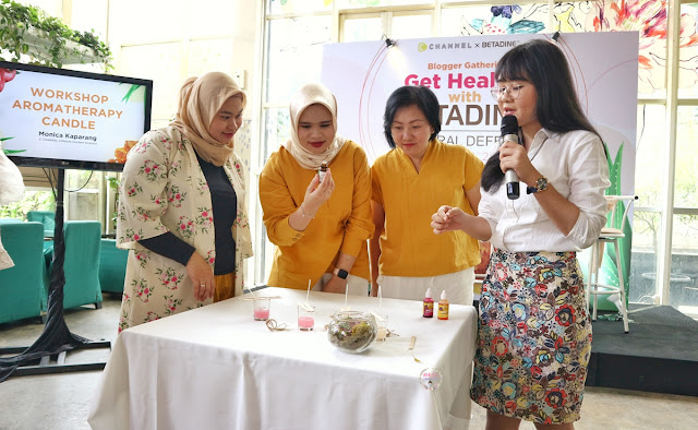 Aromatherapy Candle Workshop bersama kak Monica Kaparang