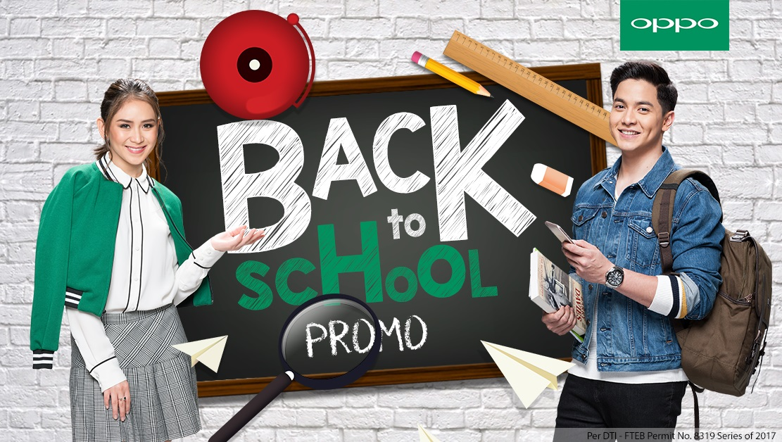 OPPO Back to School Promo