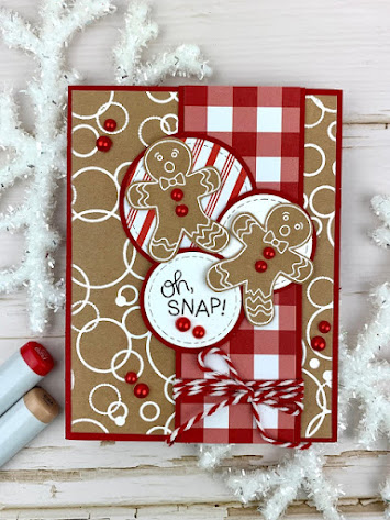 Oh, Snap! by Meghan K. features Ginger Snap by Newton's Nook Designs;#newtonsnook, #christmas, #cardmaking