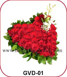 Kirim Bunga Valentine ke Mess Pramugari Garuda Indonesia