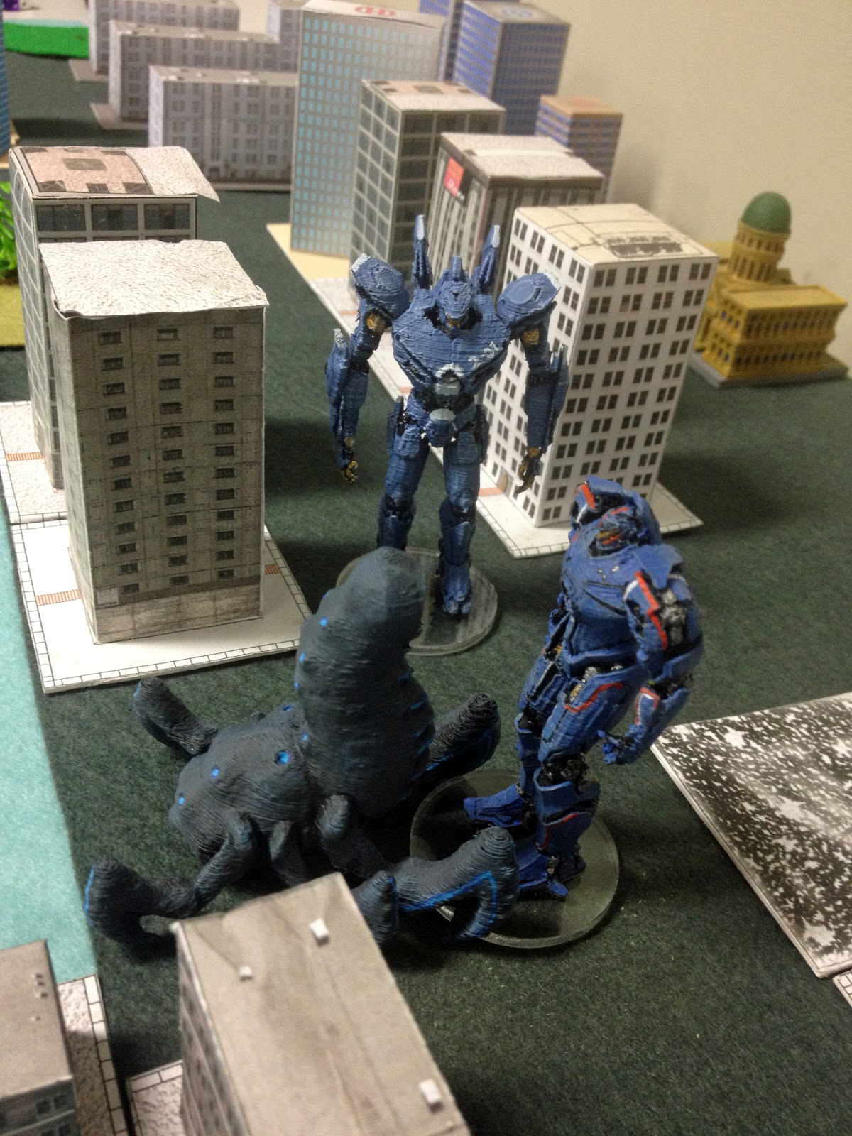 The Stronghold Rebuilt: Kaiju Triple Event Pacific Rim Cherno Alpha Destroyed
