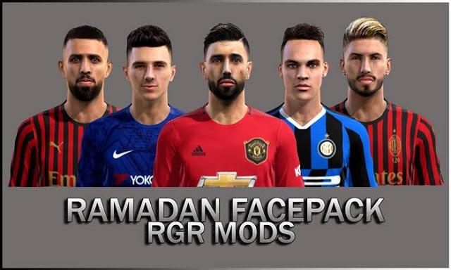 Ramadan Facepack 2020 PES 2013