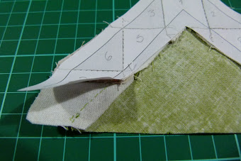 MI TIP: Appliqué sobre Paper Piecing