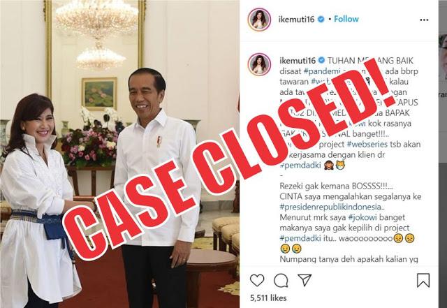 Somasi Pemprov DKI Untuk Ike Muti Adalah Usaha Mendidik Warga Bijak Bersosial Media
