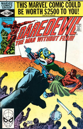 Daredevil #166, the Gladiator