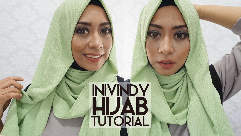 Ini Vindy Yang Ajaib 5 Tutorial Hijab Sehari Hari 2016 By Inivindy Pashmina Sifon