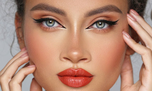Maquillaje de ojos cat eye