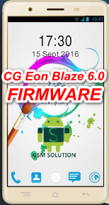 CG Eon Blaze 6.0 Stock Rom/Firmware/Flash file Download