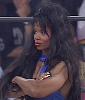 WCW Halloween Havoc 1997 - Jacqueline Moore beat Disco Inferno