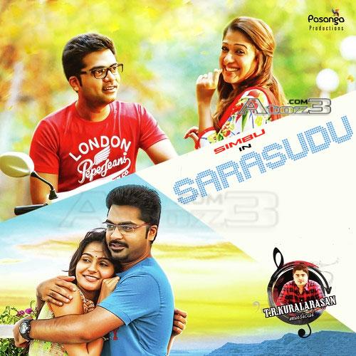 Sarasudu , Silambarasan, Nayantara, Andrea Jeremiah ,First look ,poster, Wallpapers, audio cd cover