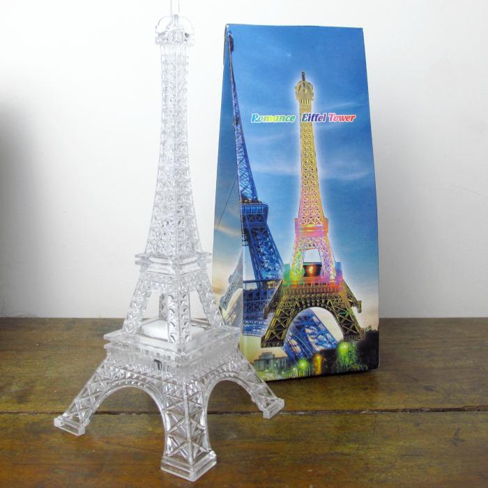 Presentes para mulheres, Dia dos Namorados, luminária de torre eiffel