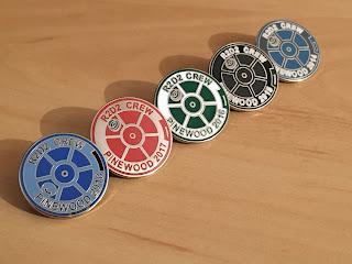 Pinewood, pin badge, R2D2