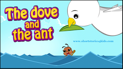 The Dove and The Ant Short story with pictures and pdf