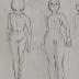 esboço corpo feminino