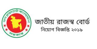 National Board of Revenue job circular 2019. জাতীয় রাজস্ব বোর্ড নিয়োগ বিজ্ঞপ্তি ২০১৯