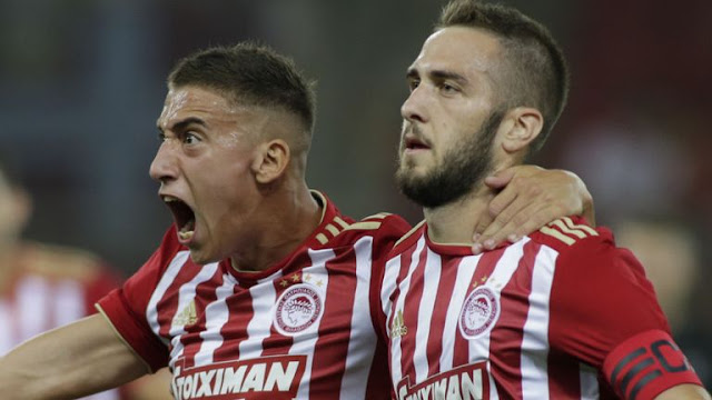Olympiacos 2 - 1 Burnley Football Highlights