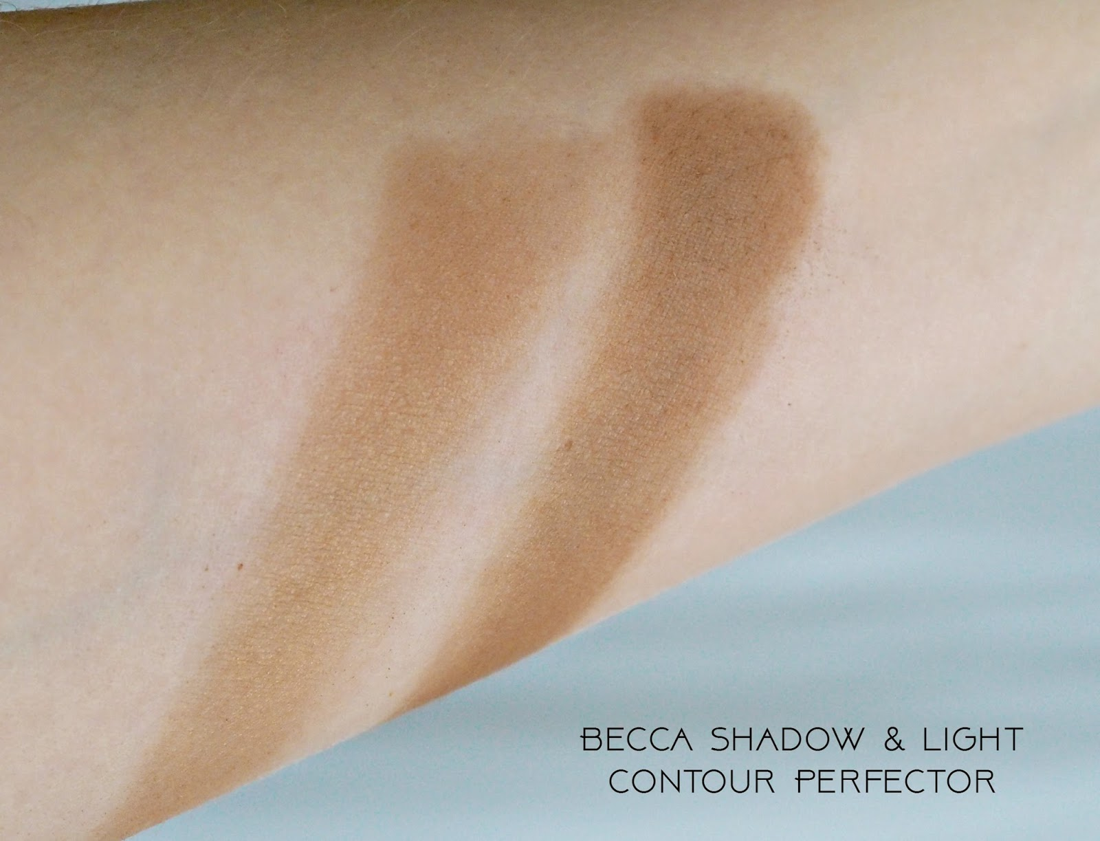 Becca Shadow & Light Contour Perfector, swatches